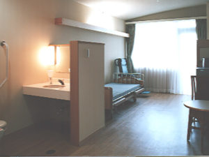 老健ぶんすい施設内 入所棟 居室(個室)