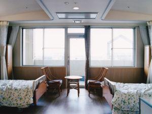 老健ぶんすい施設内 入所棟 居室(2床室)