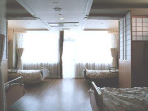 老健ぶんすい施設内 入所棟 居室(4床室)