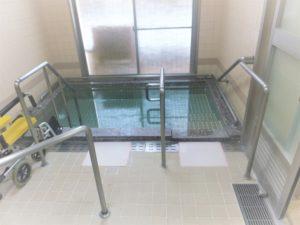 老健ぶんすい施設内 1F浴室 一般浴