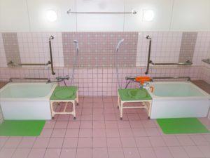 老健ぶんすい施設内 入所棟2F一般浴